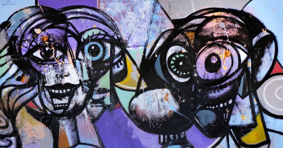 15virus frieze George Condo facebookJumbo - How to Pull Off a Modern Interior Decor Project Like a Pro
